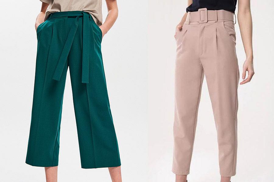 Lekkie spodnie do pracy