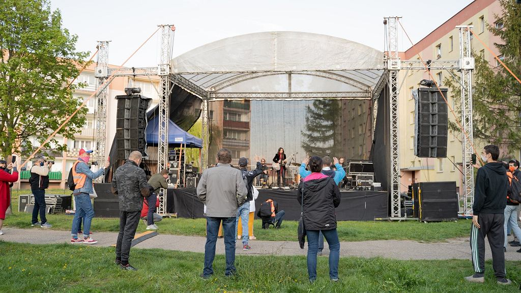 Koncert Kasi Kowalskiej w Ciechanowie (fot. Facebook/Urząd Miasta Ciechanów)