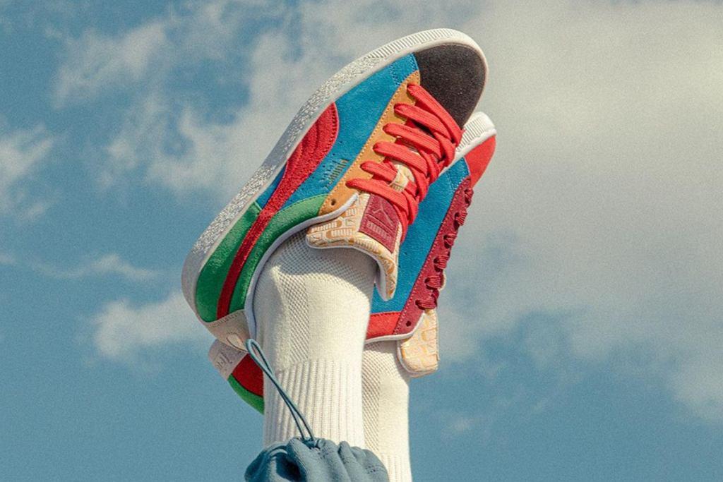 Kolorowe sneakersy na wiosnę