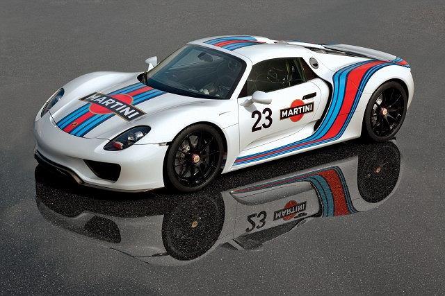 Porsche 918 Spyder w barwach Martini