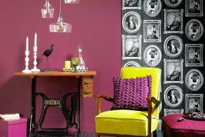 Kolor i wzór: śliwkowy odcień fioletu