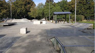 Skatepark w Kaliszu, w którym doszło do wypadku. Zginął 16-latek