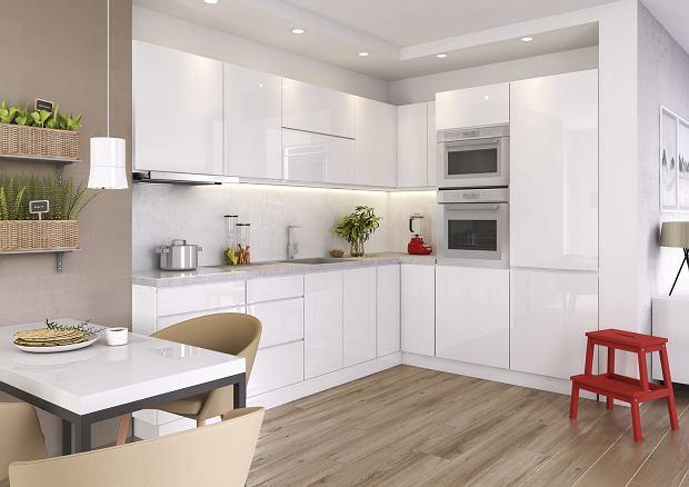 Okap podszafkowy w nowoczesnej kuchni