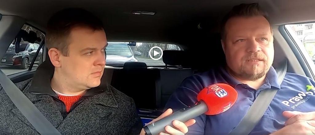 Sebastian Wierciak jeździ z Filipem Gregą po Szczecinie