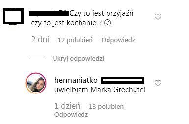 Rozmowa na Instagramie