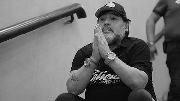 Diego Maradona w Meksyku