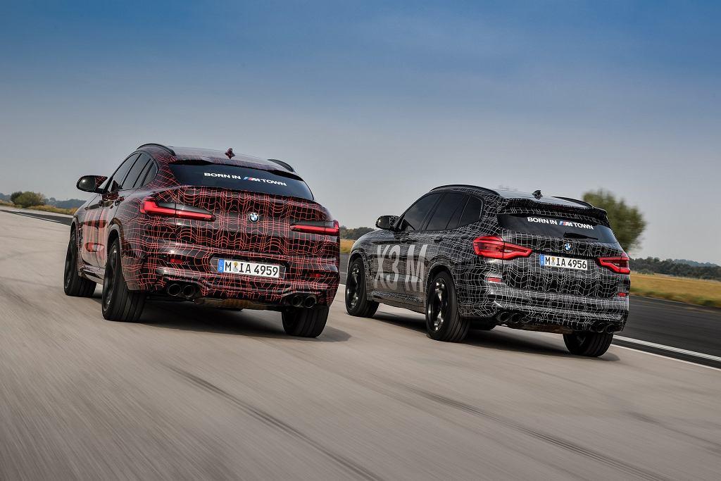Prototypy BMW X3 M i X4 M