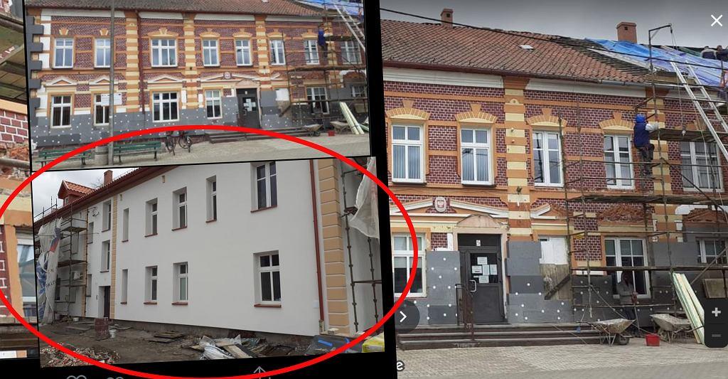 Remont budynku