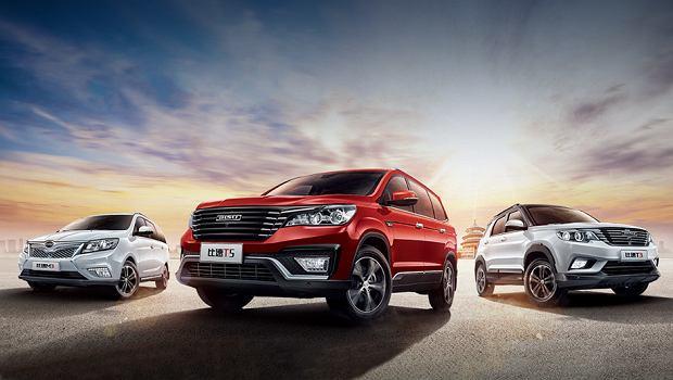 Chińskie SUV-y