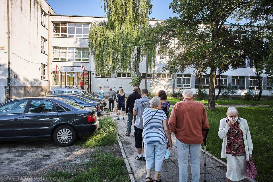 Wybory prezydenckie 2020. Obwodowa Komisja Wyborcza nr 11 w Łodzi