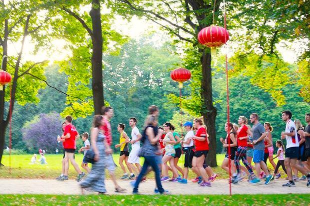 Slow Jogging w Łazienkach