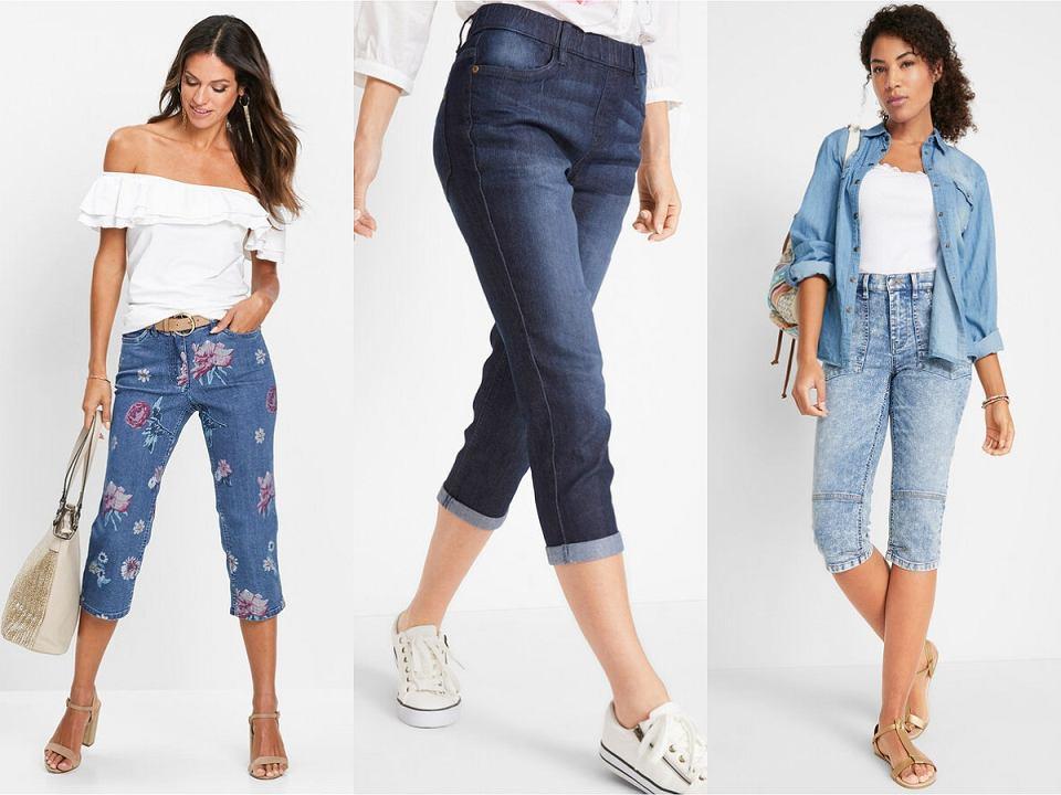 Rybaczki jeansowe