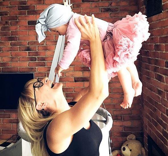 Źródłem motywacji i siły jest teraz dla Kasi jej córka  Róża