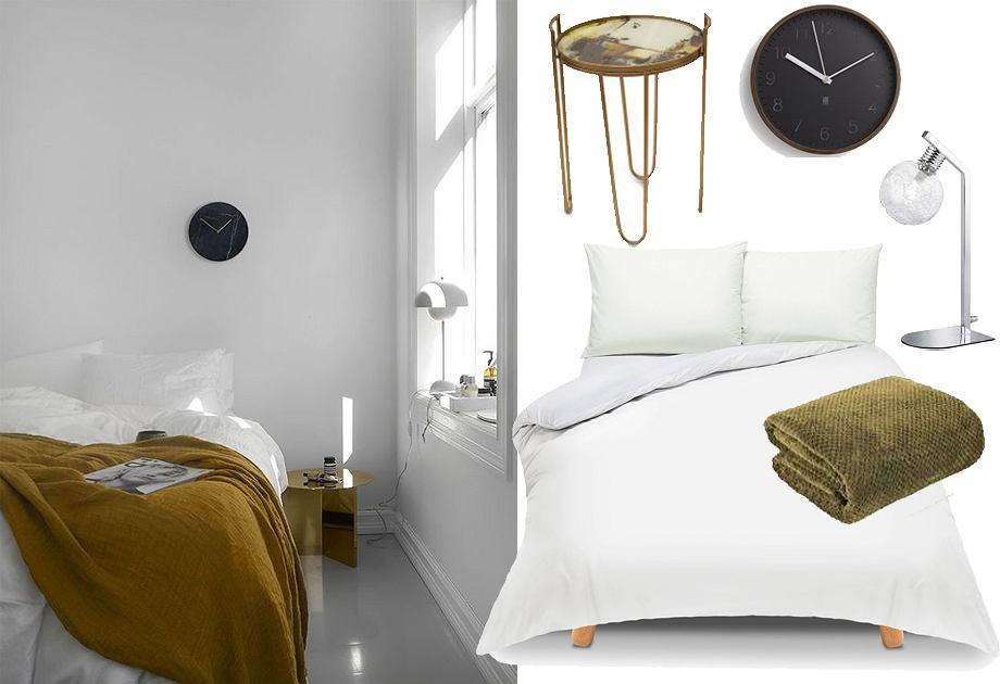 Sypialnia w stylu lagom