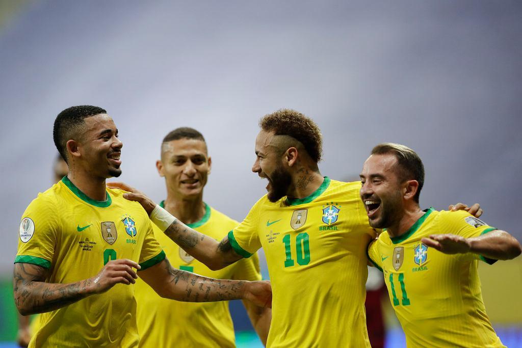 Brazil Venezuela Copa America Soccer