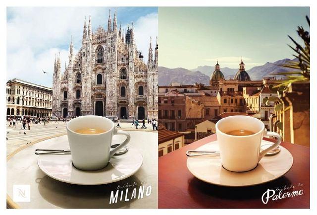 Nespresso - Milano, Palermo