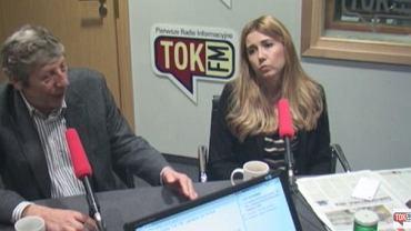"""Dr Robert Sobiech i Kamila Baranowska w """"Poranku Radia TOK FM"""""""