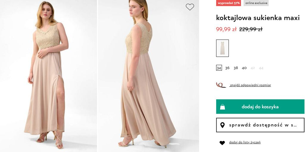sukienka koktajlowa Orsay