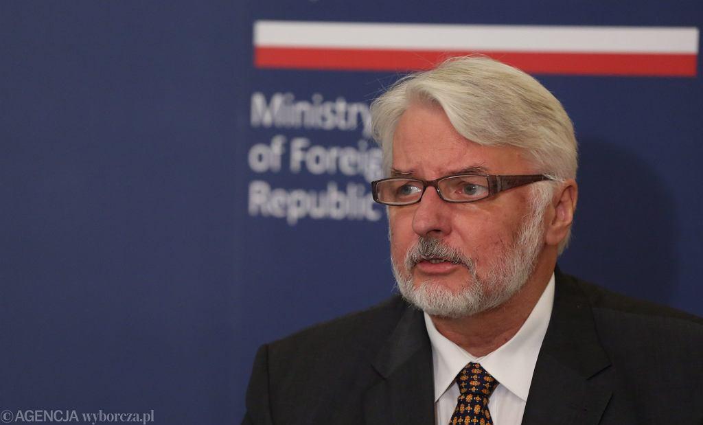 :Konferencja ministrow spraw zagranicznych Polski Bialorusi