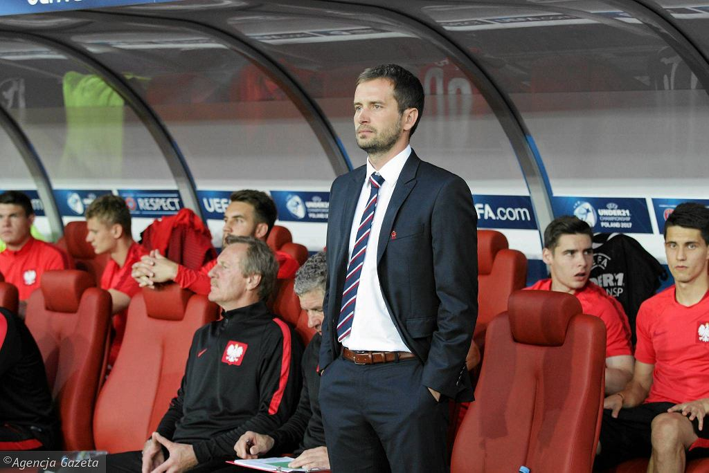 Marcin Dorna, trener Polski U21