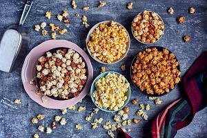 Domowy popcorn na słono i słodko - karmelowy, ziołowy, serowy... Lepszy i zdrowszy niż chipsy!