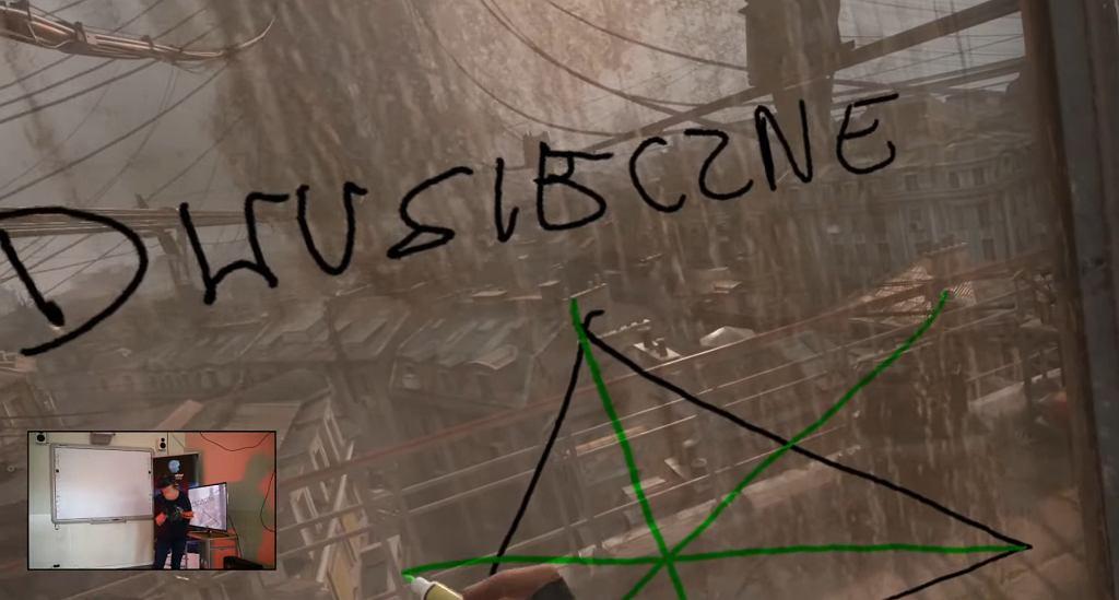 Lekcja Matematyki w Half-Life Alyx
