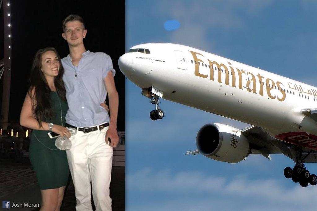 Beth i Josh zostali wyproszeni z samolotu, bo 24-latkę bolał brzuch z powodu okresu