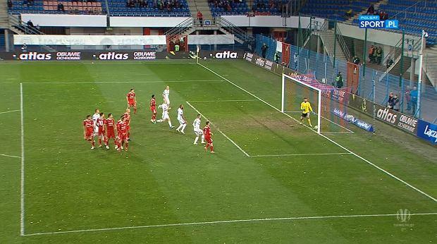 Kontrowersje w spotkaniu Pucharu Polski pomiędzy Piastem Gliwice i Legią Warszawa