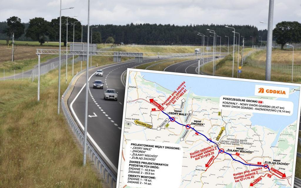 Przybyło aż 40 km drogi ekspresowej S7
