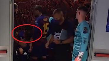 Nagranie z szatni Barcelony w przerwie meczu z Bayernem w 1/4 LM