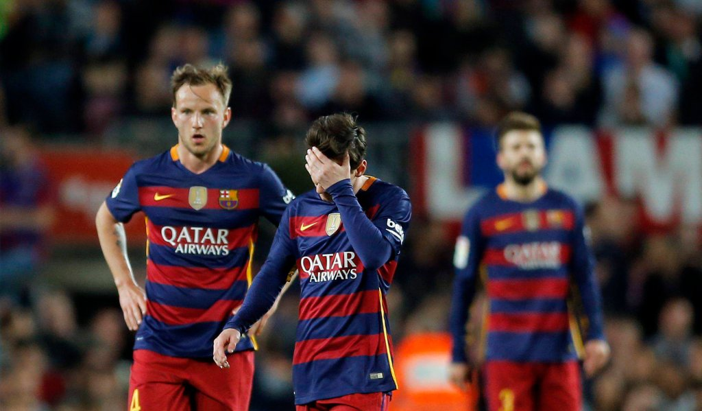 FC Barcelona - Valencia (1:2)