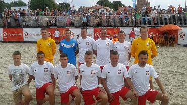 Polska reprezentacja w beach soccerze
