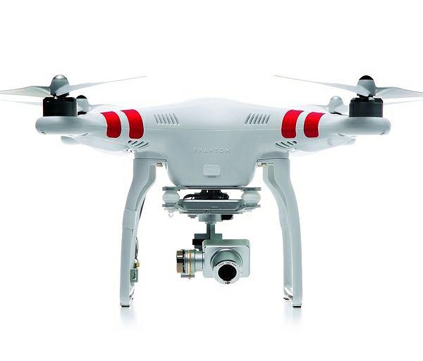 DJI PHANTOM 2 VISION - prawdopodobnie najpopularniejszy dron świata. CENA: 950 euro