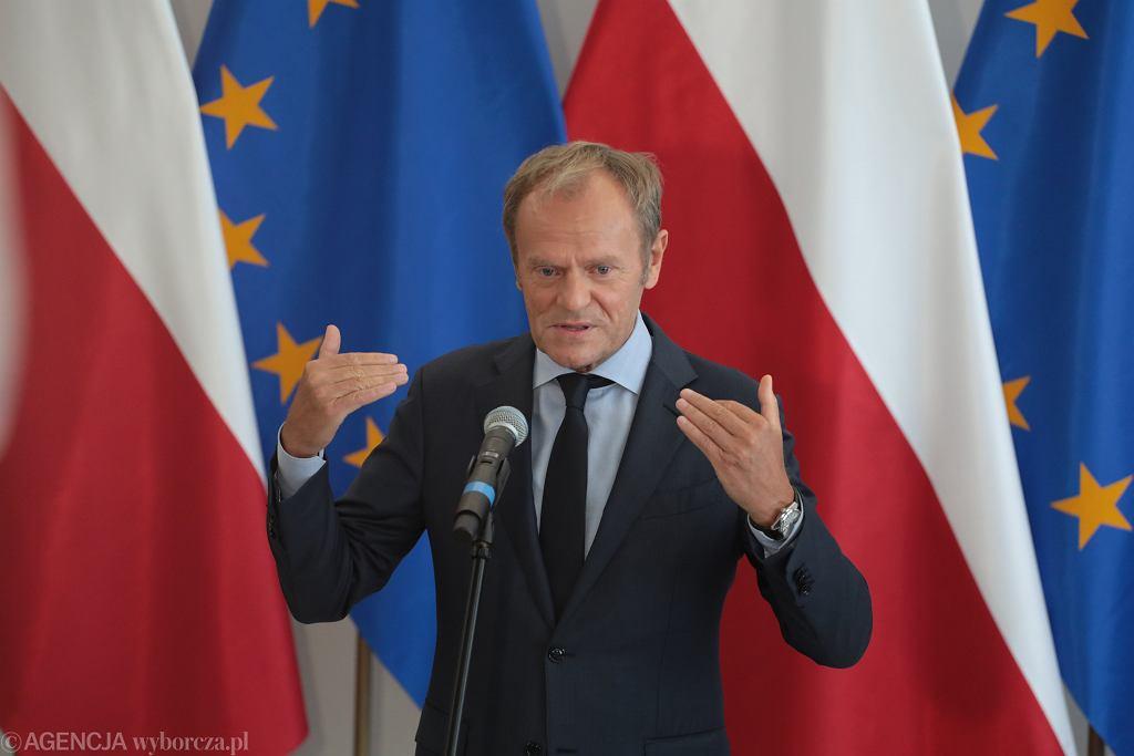 Donald Tusk, lider PO