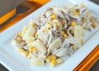 Sałatka majonezowa z kurczakiem i ananasem - Zdjęcia