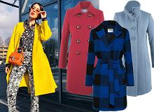 Kolorowe płaszcze: żółty w stylu Macademian Girl czy wzorzysty model Zosi Ślotały?