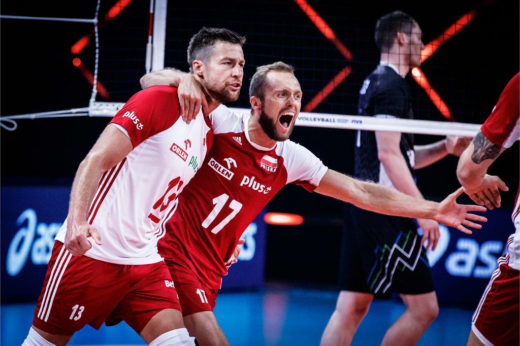 Michał Kubiak i Paweł Zatorski po awansie do finału Ligi Narodów 2021