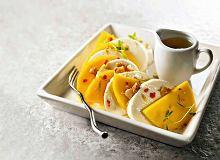 Carpaccio z mango i mozzarelli z cytrusowym dressingiem - ugotuj