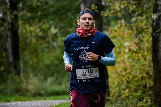 Zdjęcie numer 91 w galerii - Silesia Marathon. Chłód i wiatr niestraszne, rekord pobity! [ZDJĘCIA]