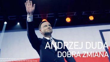 Wybory prezydenckie 2015. Andrzej Duda w nowym spocie wyborczym