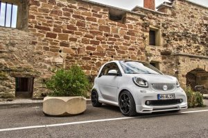 Smart ForTwo Lorinser |  Maluch na sterydach