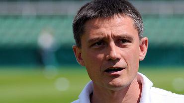 Lech Poznań - Lechia Gdańsk 3:0 w sparingu w Grodzisku Wlkp. Trener Mariusz Rumak
