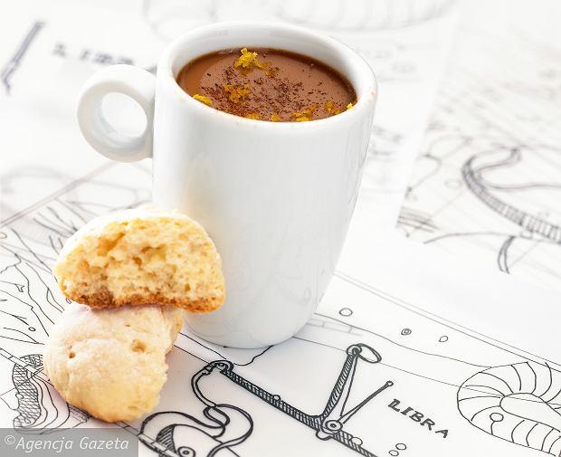 Lekkie ciasteczka cytrynowe i krem budyniowy espresso