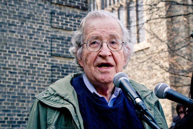 Noam Chomsky w Toronto w 2011 r.