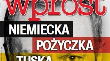 """Fragment okładki tygodnika """"Wprost"""""""