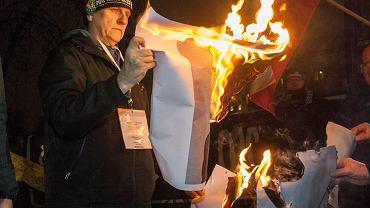 Manifestacja nacjonalistów we Wrocławiu