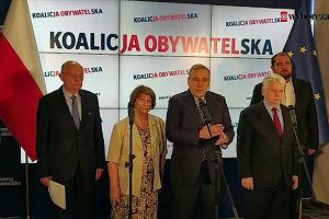 Schetyna o protestach wyborczych PiS-u: Demokracja i zasady są w Polsce zagrożone