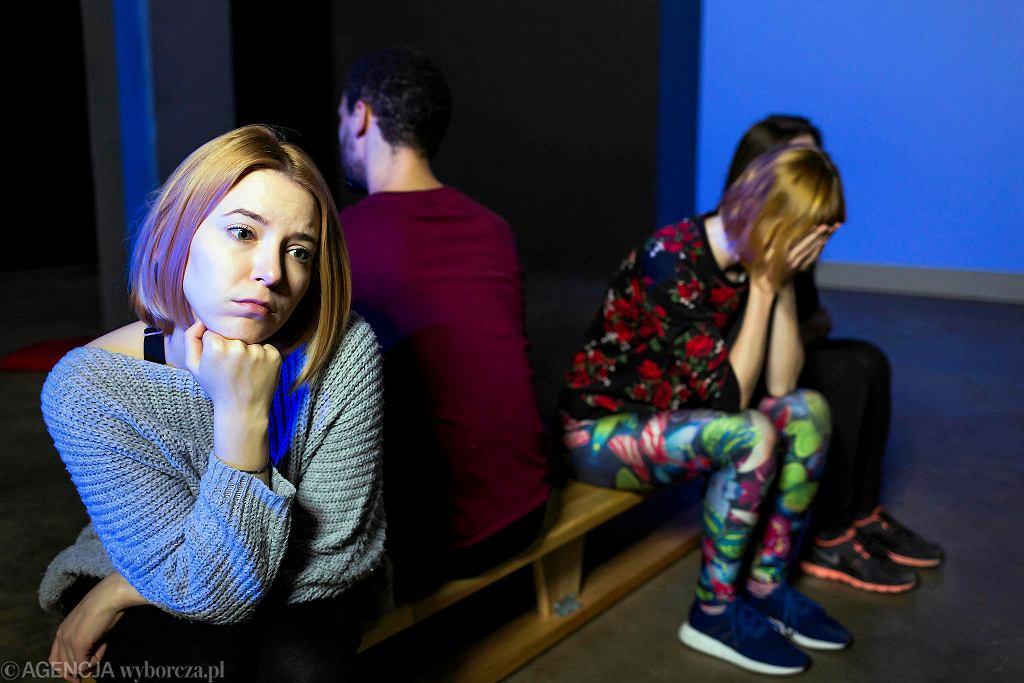 'Teoria smutnego chłopca'. Występują: Natasza Aleksandrowitch, Małgorzata Biela, Weronika Krówka, Weronika Łukaszewska, Oscar Mafa. / MATEUSZ SKWARCZEK