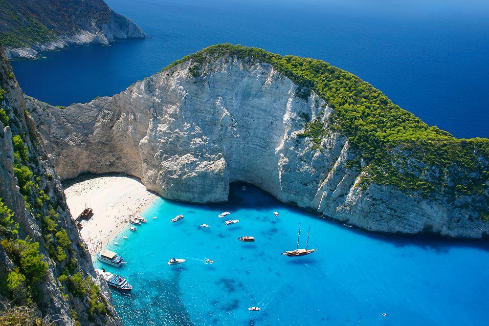 Wyspa Zakynthos znalazła się w strefie pomarańczowej, a to znaczy, że trzeba zachować większą ostrożność