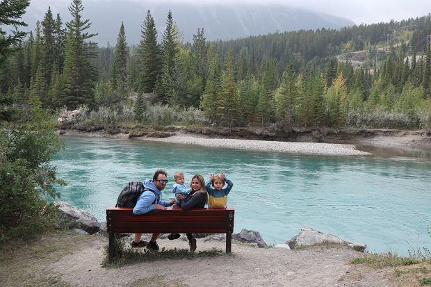 Agnieszka i Michael starają się aktywnie spędzać czas z dziećmi, dużo podróżują.